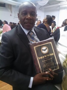 New York Based Cayon Activist Lennox Liburd recieving Father of the Year Award in New York. Liburd has made a loud appeal for assistance in procuring CCTV's for his hometown of Cayon on St.Kitts .