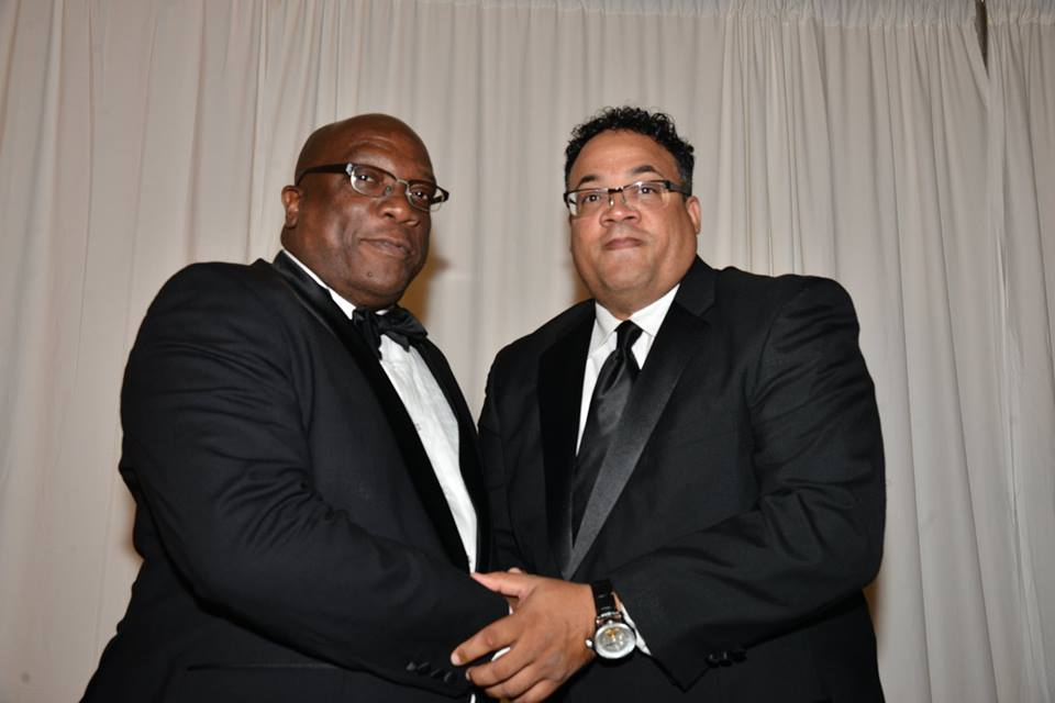 Dr Timothy Harris and Dr Milton Browne
