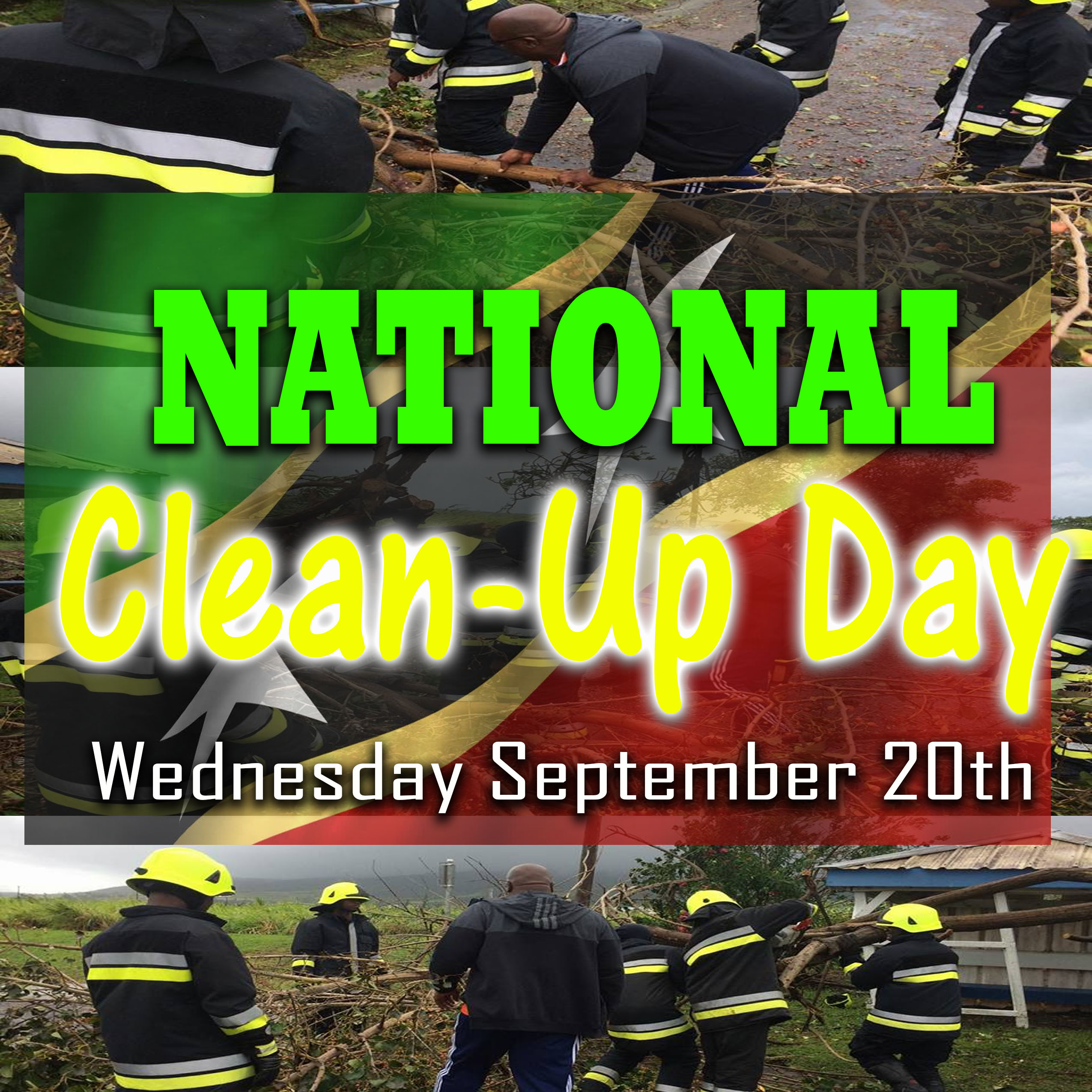 ST.KITTS-NEVIS GOVERNMENT DECLARES WEDNESDAY SEPT 20TH NATIONAL CLEAN-UP DAY – Times Caribbean