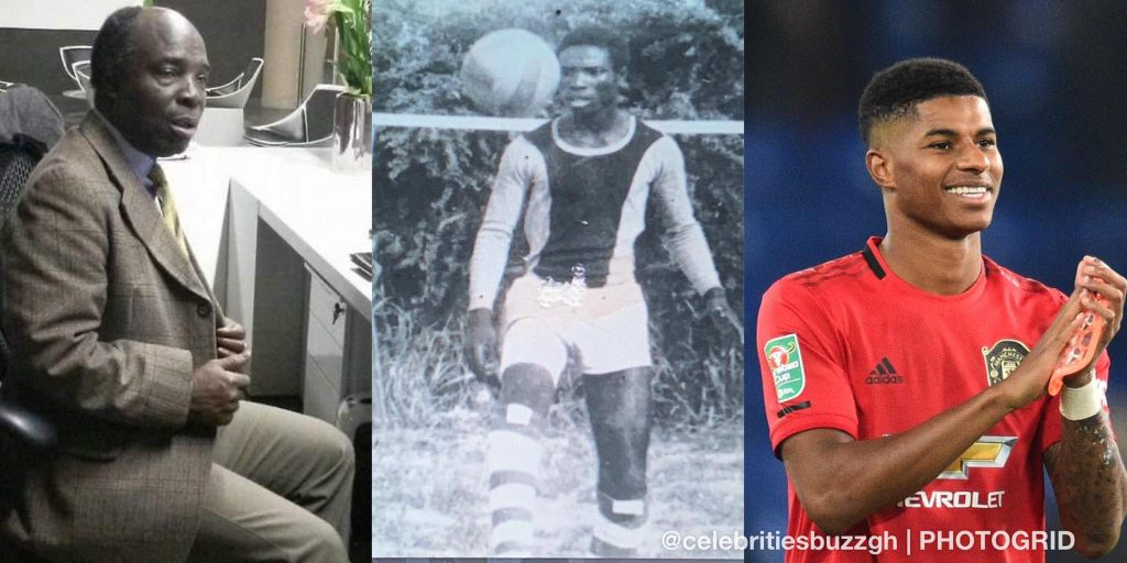 Former Ghana Player Claims He Is Man United St Kitts Nevis Marcus Rashford S Biological Father Times Caribbean Online